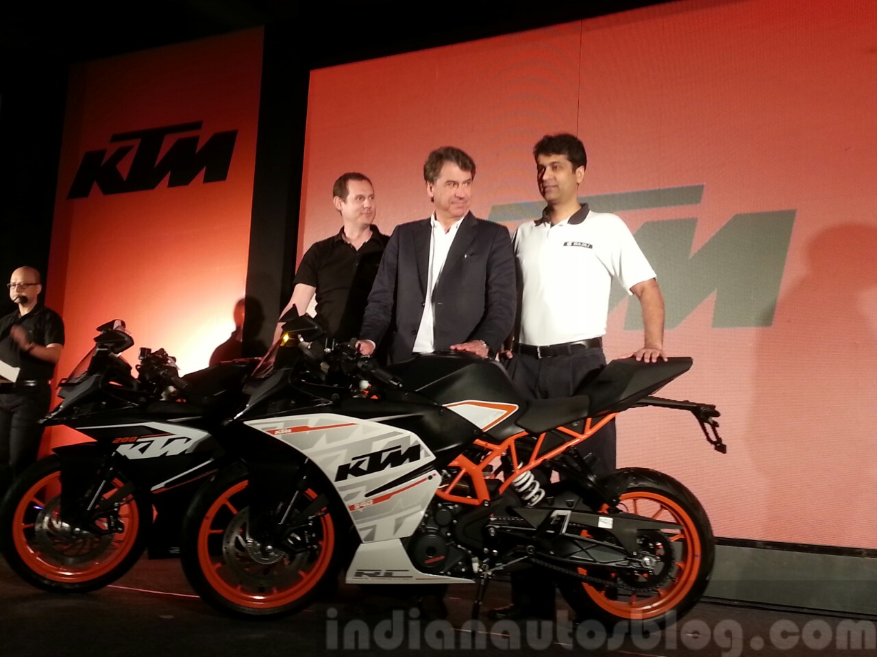 KTM RC200 and RC390 launch