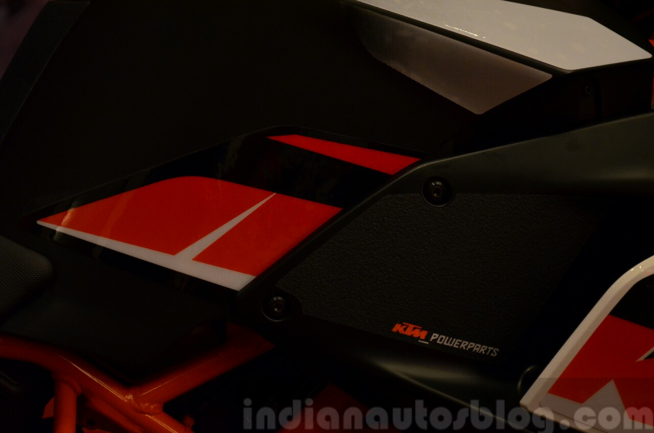 KTM RC390 and RC200 Style package power parts