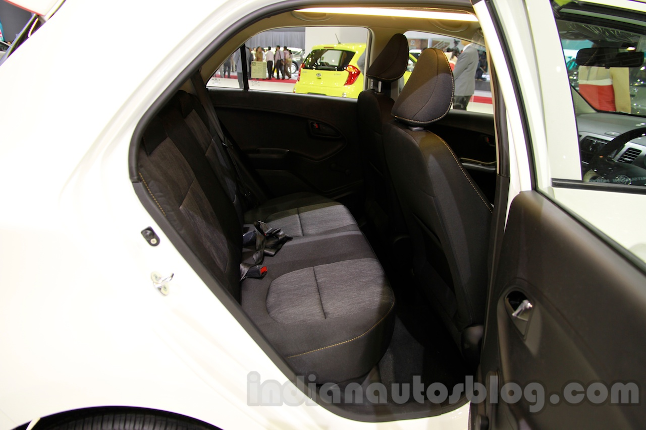 Kia Morning Special Edition at the 2014 Indonesia International Motor Show rear seats