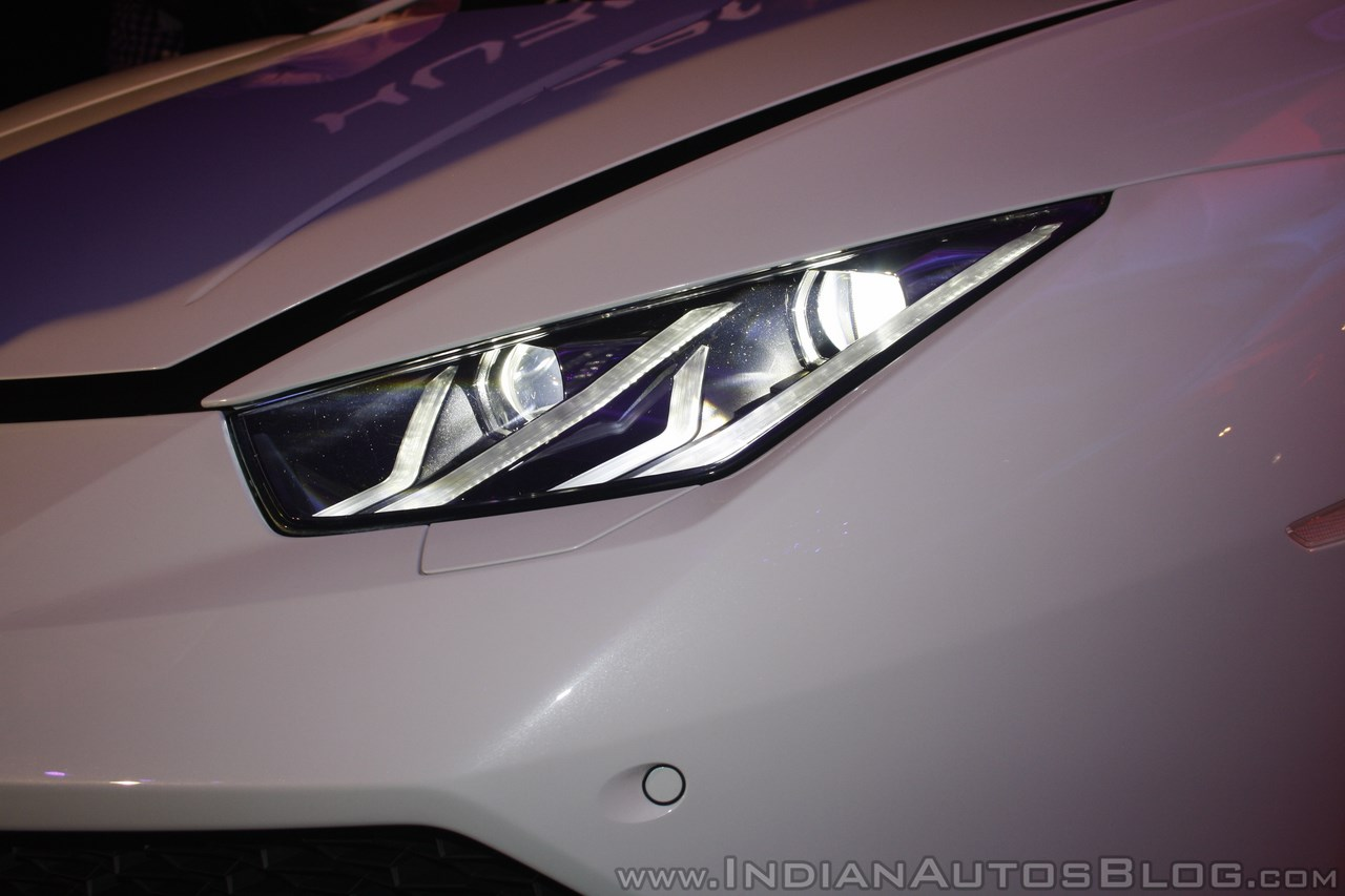 Lamborghini Huracan India Launch headlights