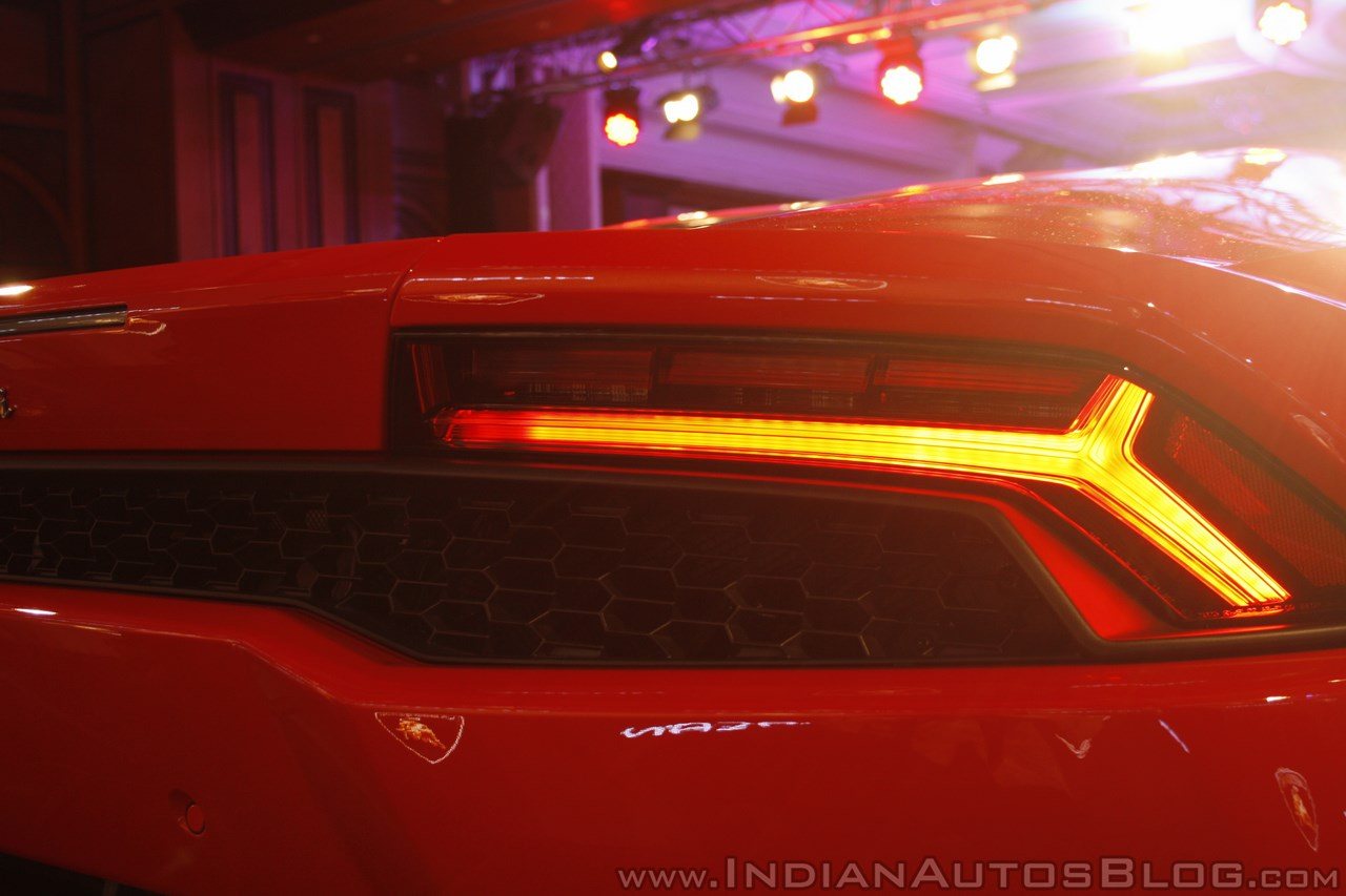 Lamborghini Huracan India Launch taillight