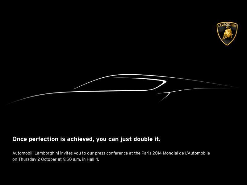 Lamborghini mystery teaser