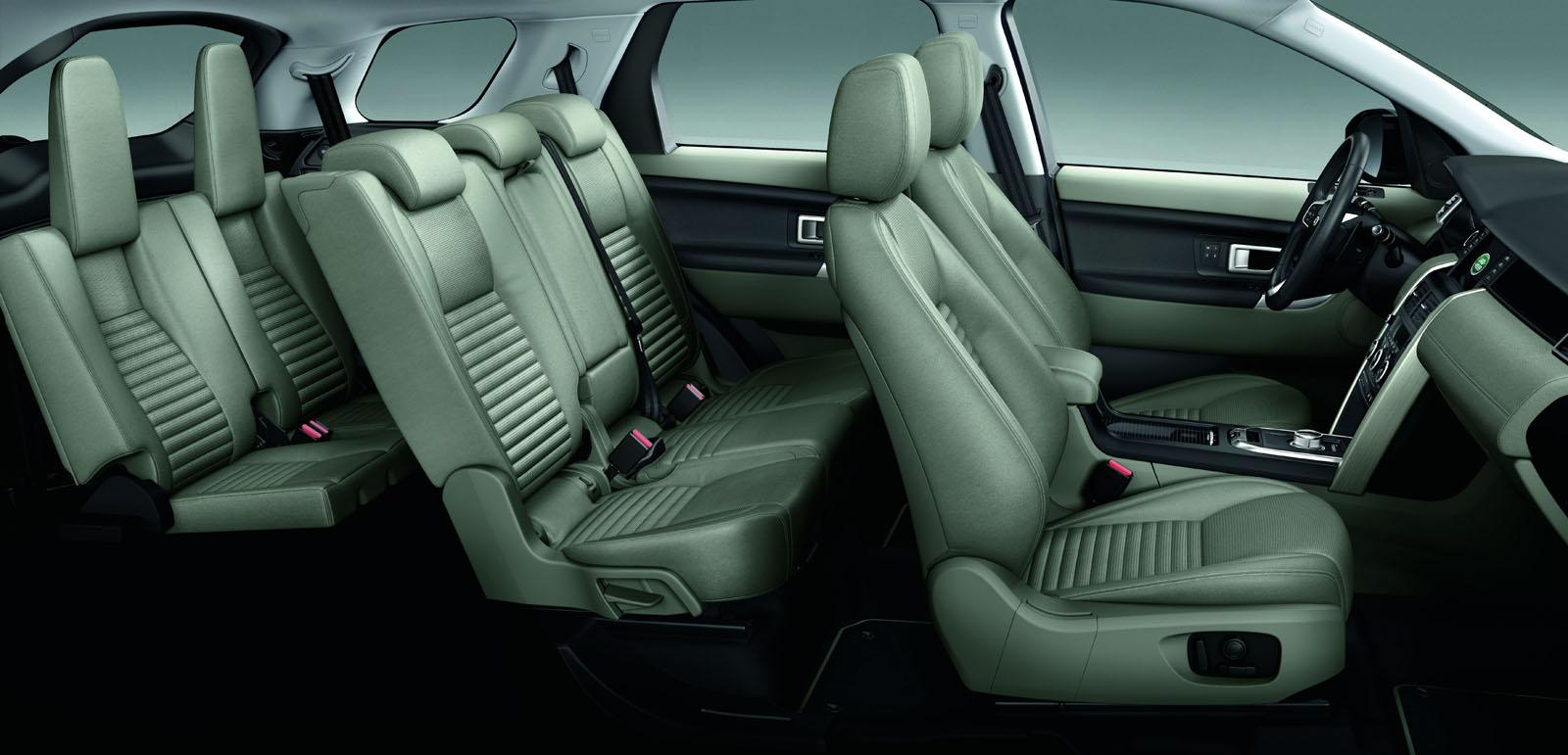 Land Rover Discovery Sport press shots seats