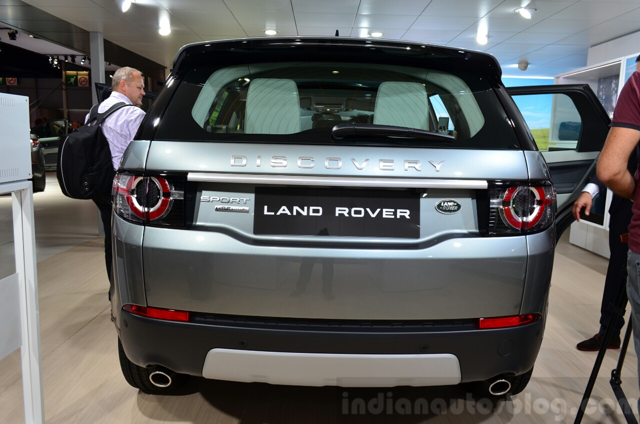 Land Rover Discovery Sport rear at the 2014 Paris Motor Show