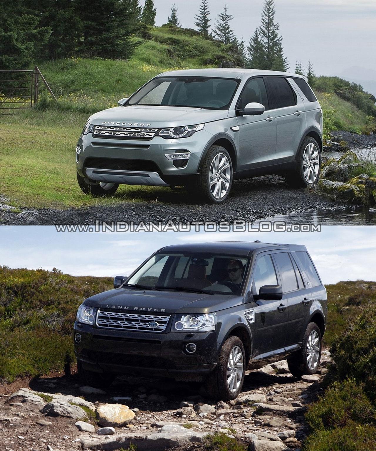 Land Rover Discovery Sport vs Freelander