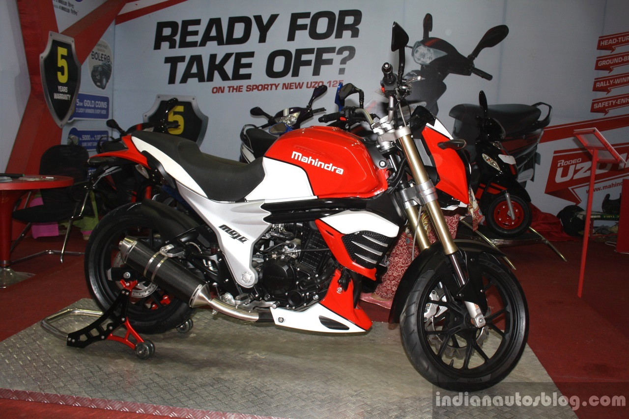 Mahindra Mojo profile at NADA 2014