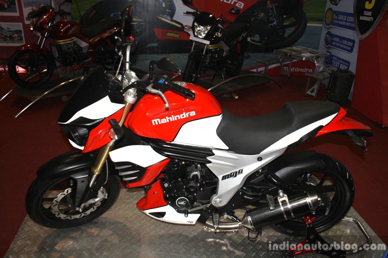 Mahindra Mojo side at NADA 2014