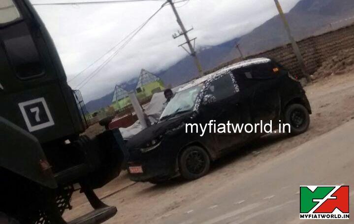 Mahindra S101 spied in Leh