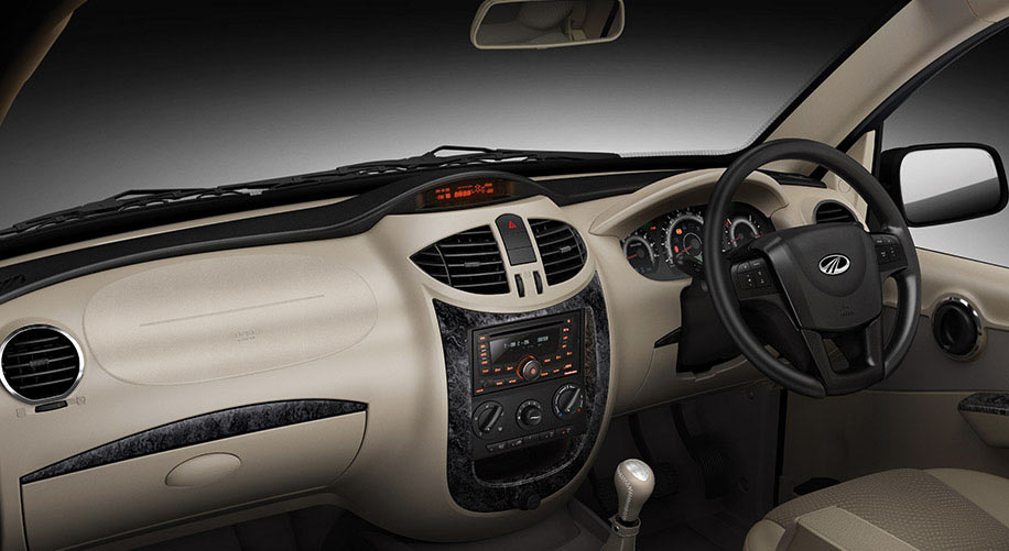 Mahindra Xylo refreshed interior