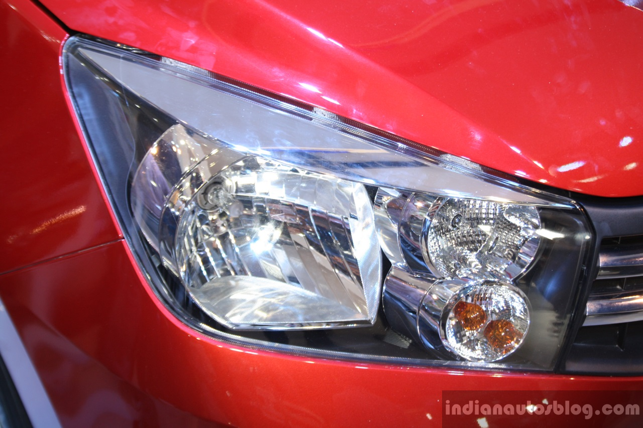 Maruti Celerio headlight at the 2014 Nepal Auto Show