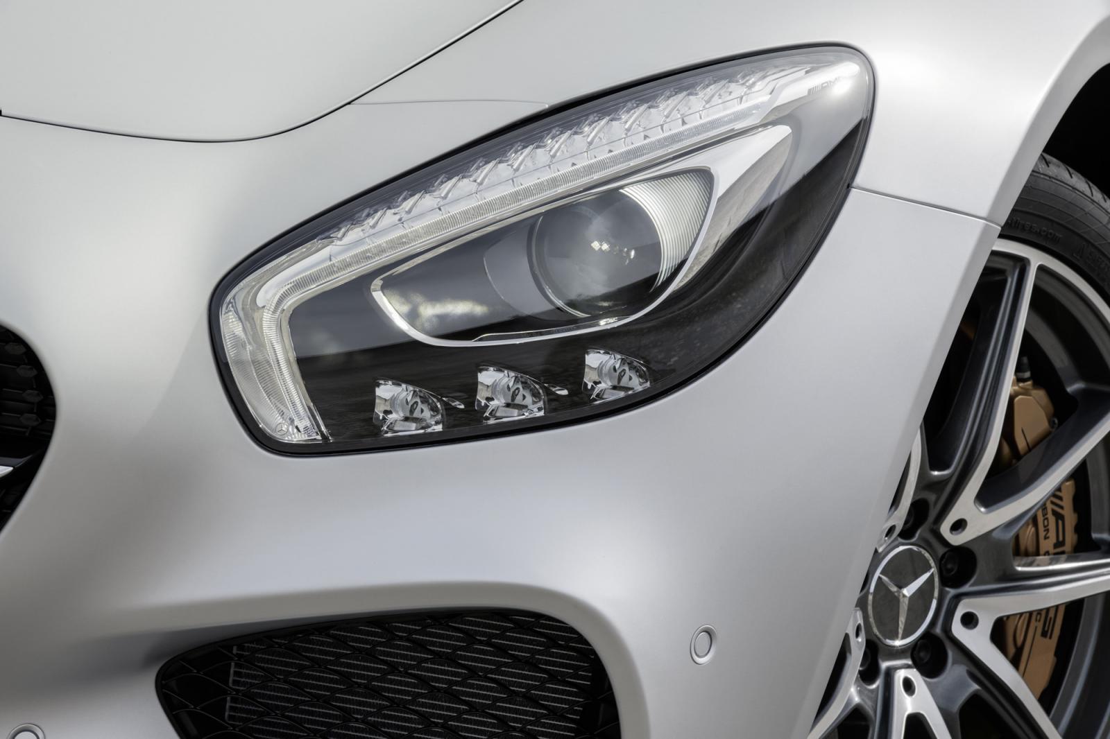 Mercedes AMG GT press image headlamp
