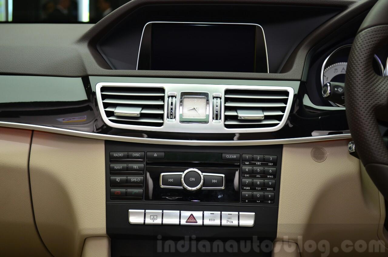 Mercedes E350 CDI launch AC