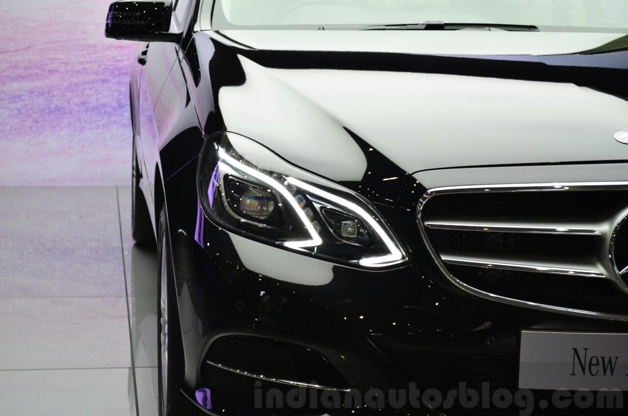 Mercedes E350 CDI launch DRL