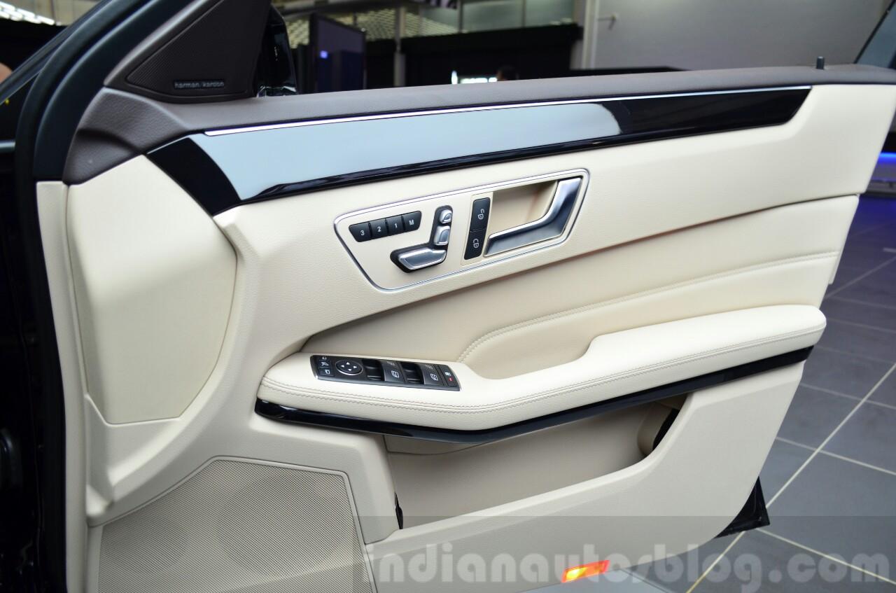 Mercedes E350 CDI launch door panel