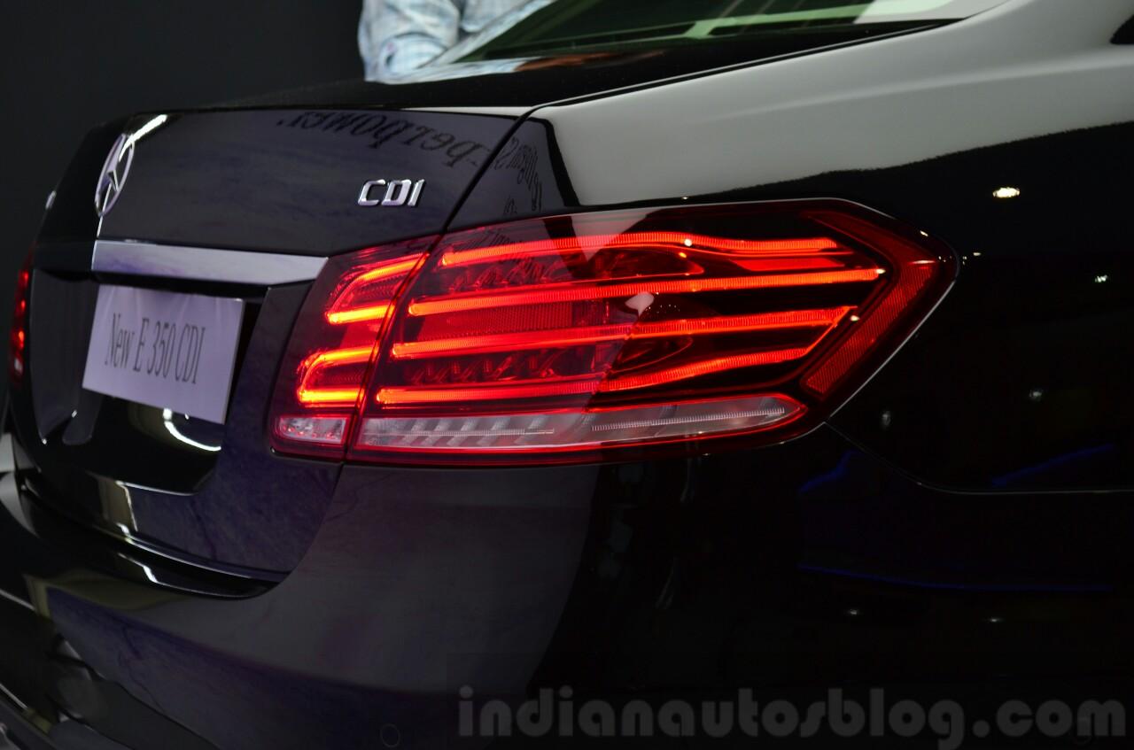Mercedes E350 CDI launch taillight
