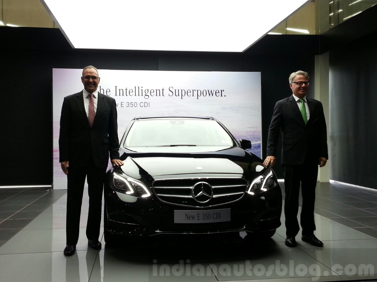 Mercedes E350 CDI launched in India