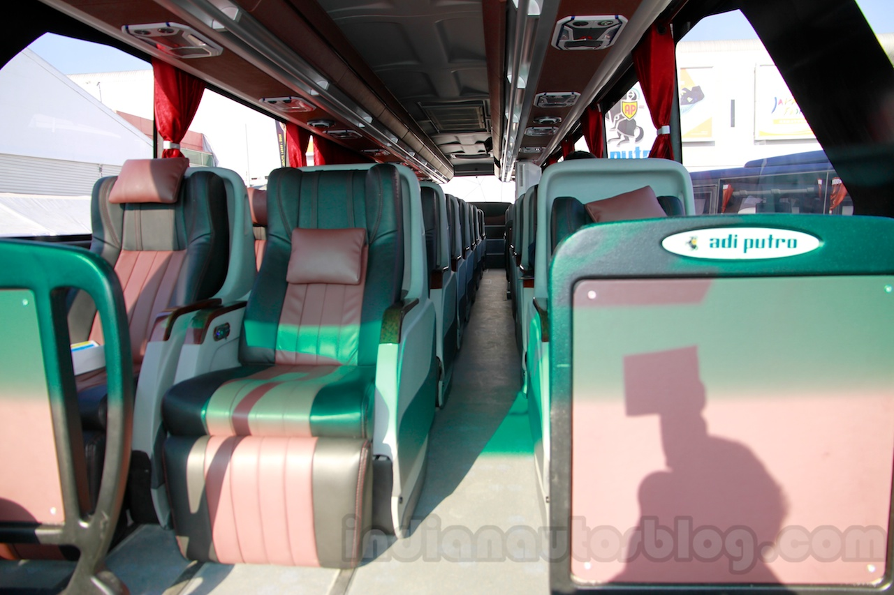 Mercedes OC 500 RF 2542 bus chassis cabin at the 2014 Indonesia International Motor Show