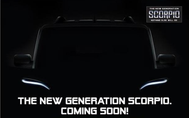 New Generation Scorpio Coming Soon teaser