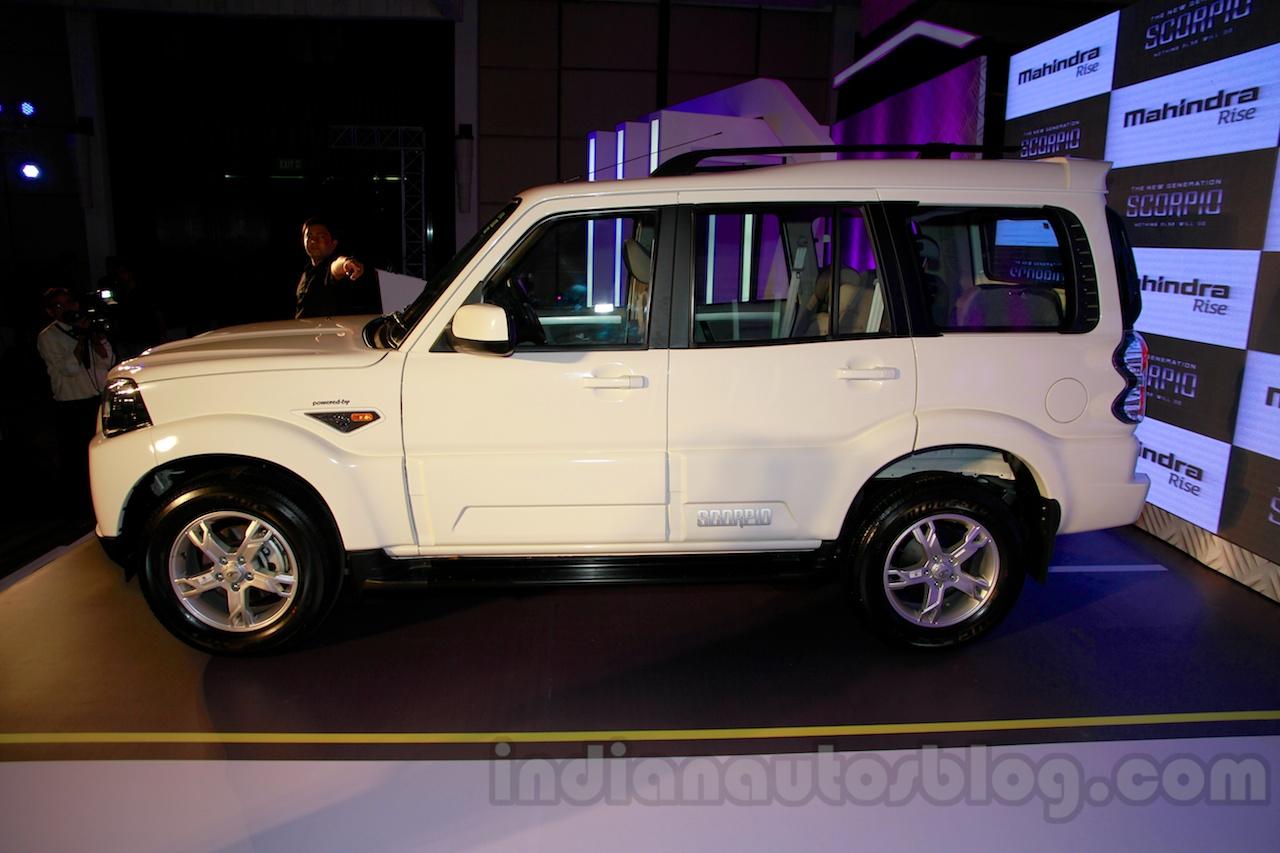 New Mahindra Scorpio Side Delhi Launch