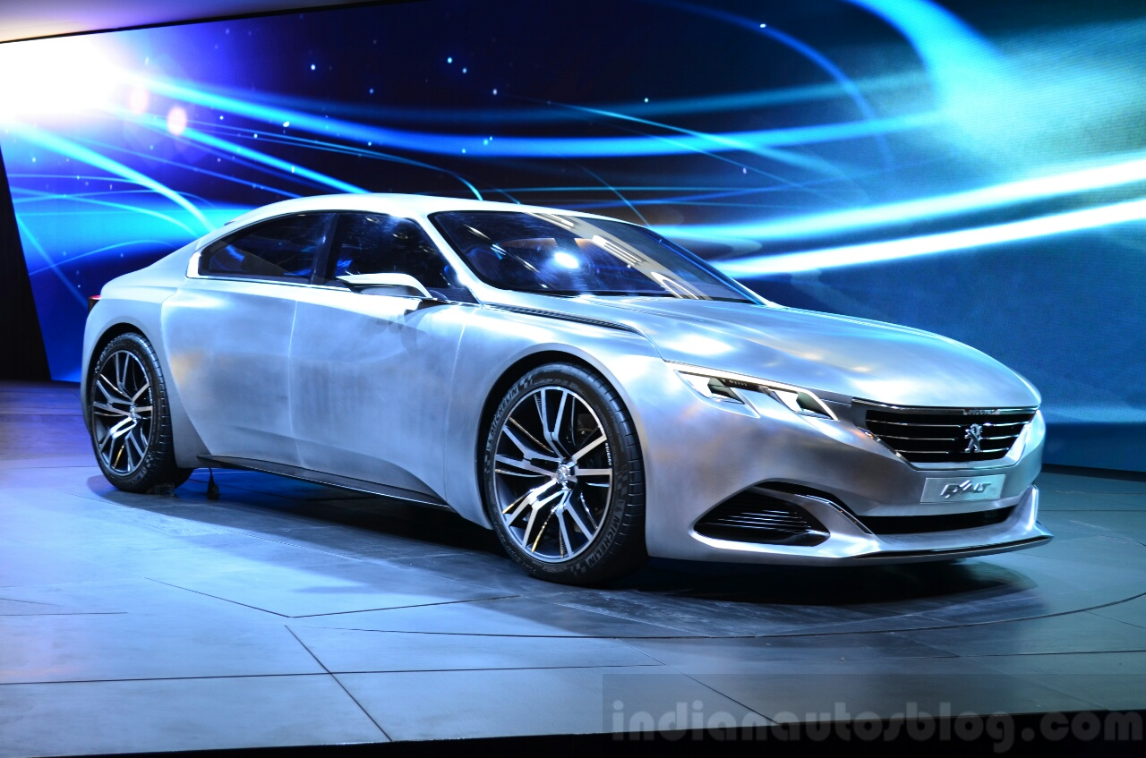 second generation 2017 peugeot 508 rendering. Black Bedroom Furniture Sets. Home Design Ideas