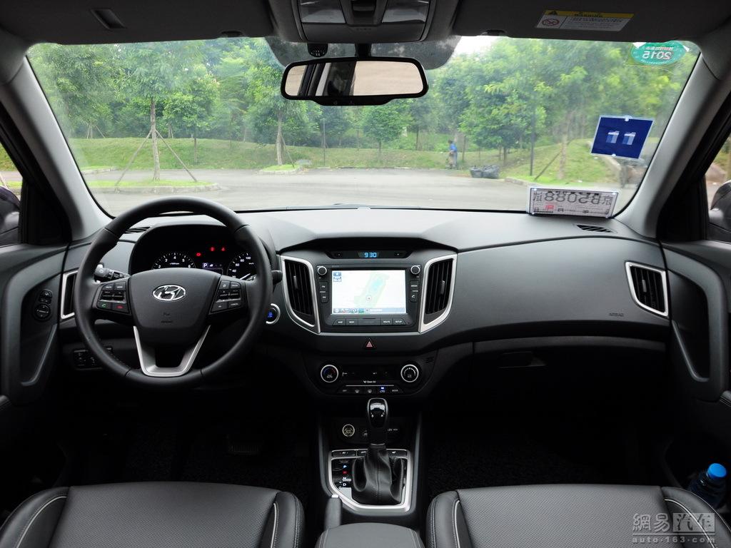 Production Hyundai ix25 images dashboard