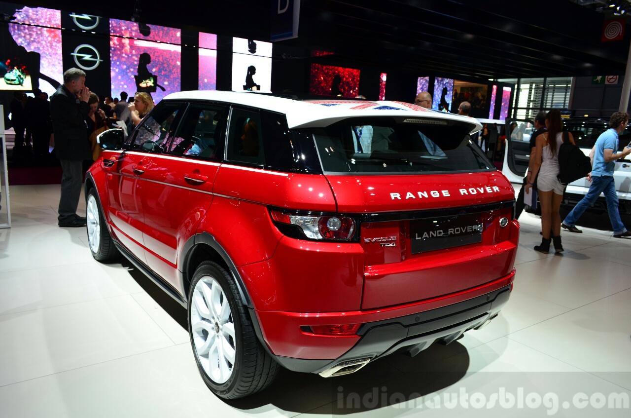 Range Rover Evoque SW1 at the 2014 Paris Motor Show