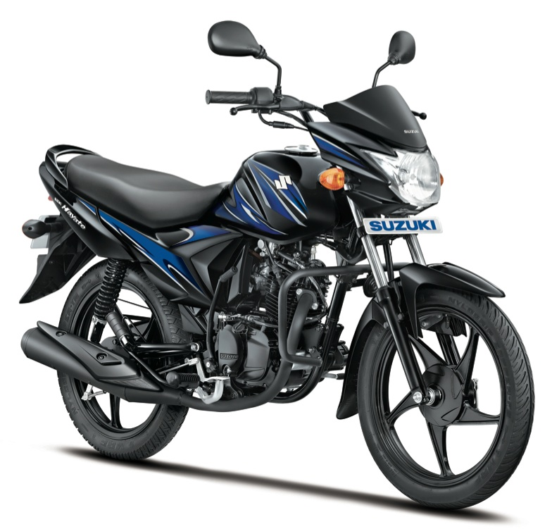 Refreshed Suzuki Hayate press shot