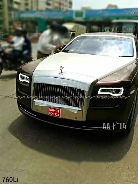 Rolls Royce Ghost Series II spotted in India for the first time