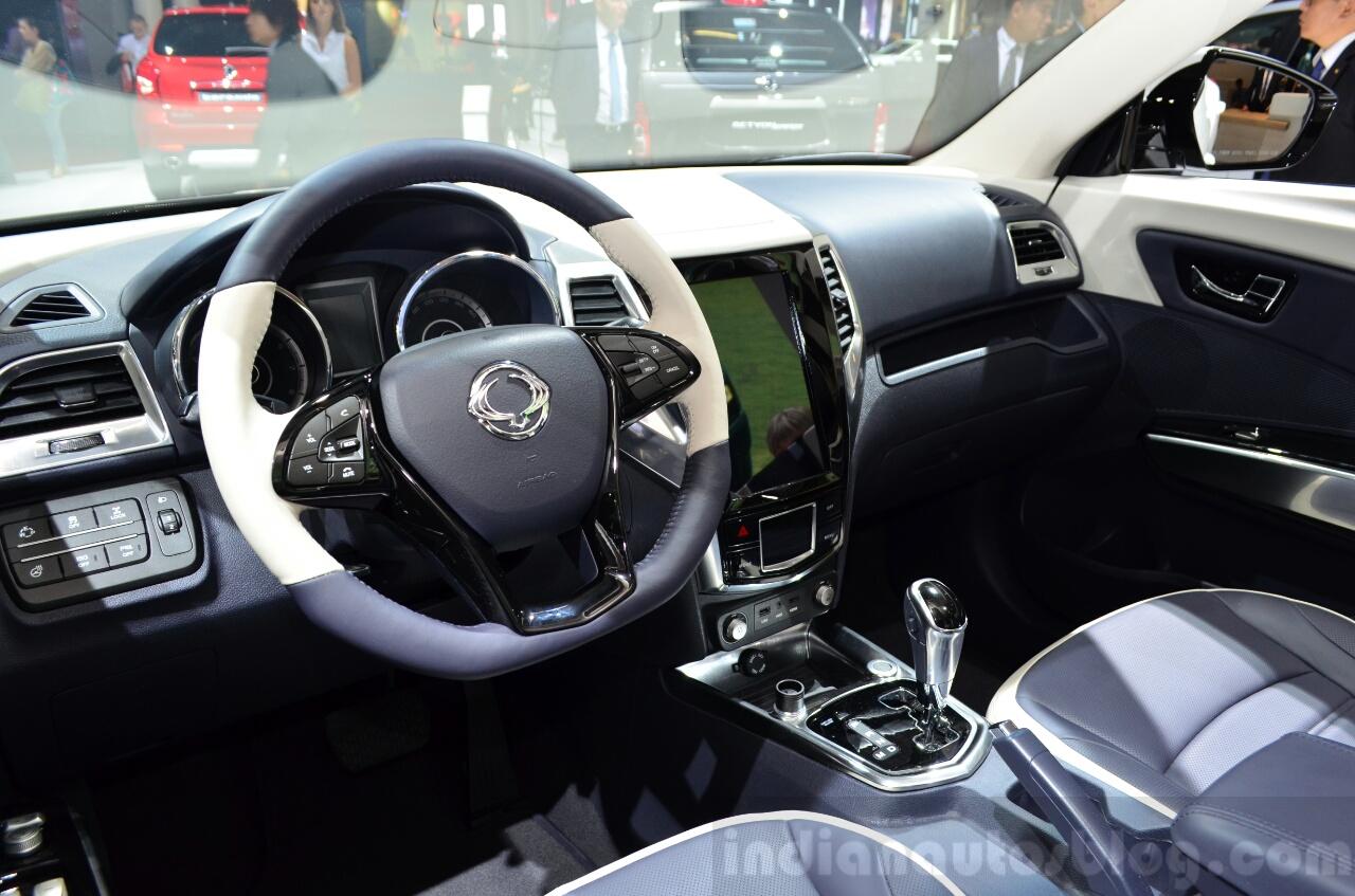 Ssangyong XIV-Air Concept interior at the 2014 Paris Motor Show