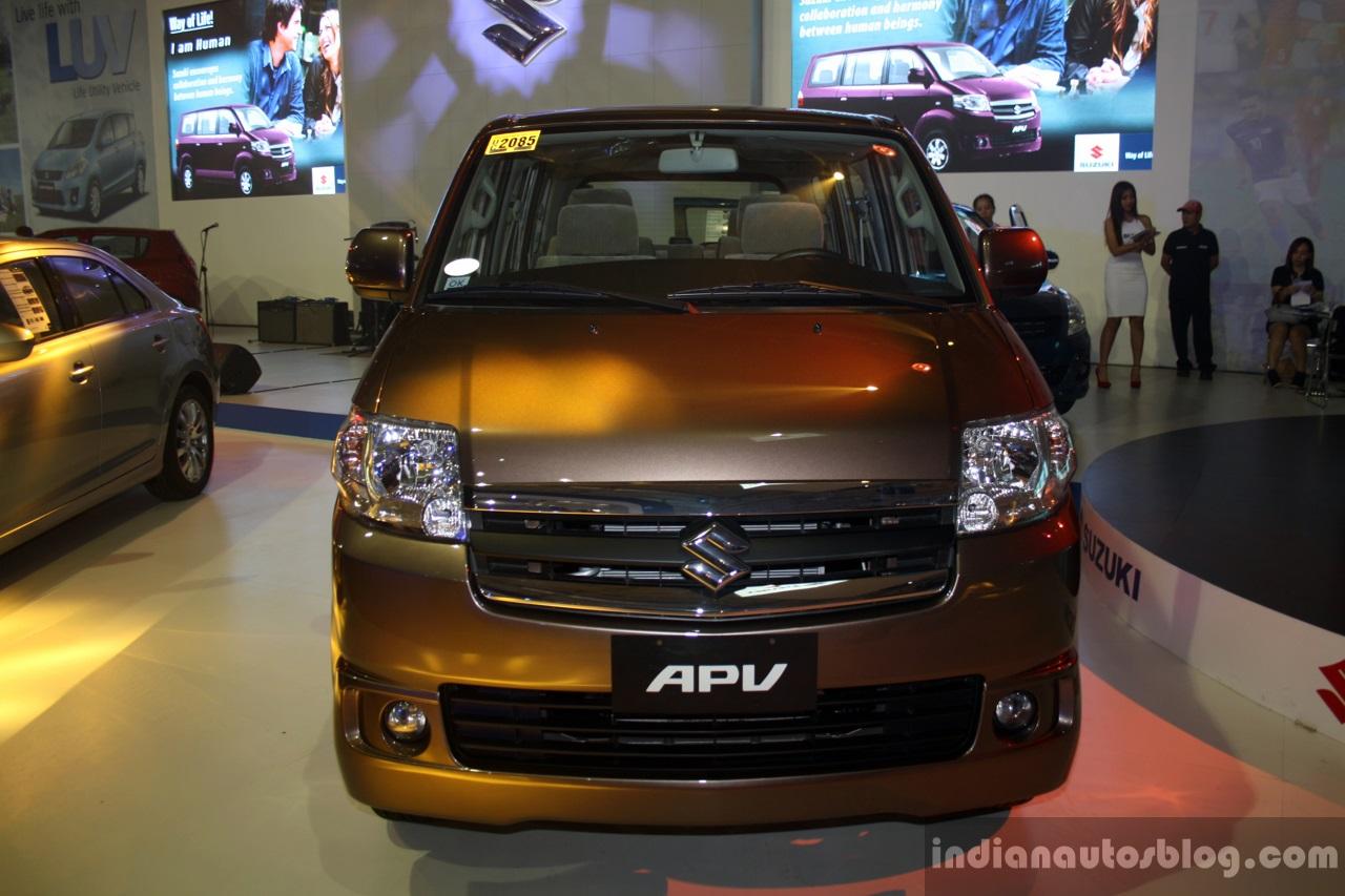 Suzuki APV front at the CAPMI 2014