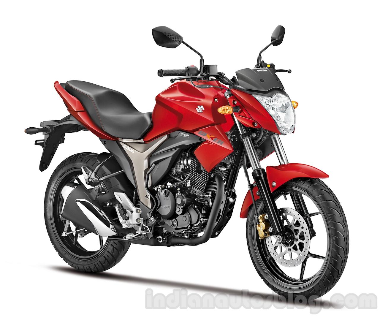 Suzuki Gixxer Front Red