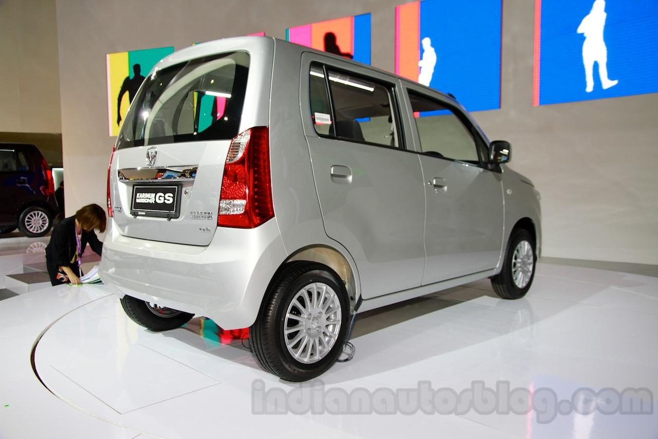 Suzuki Karimun Wagon R GS at the 2014 Indonesia International Motor Show rear quarters