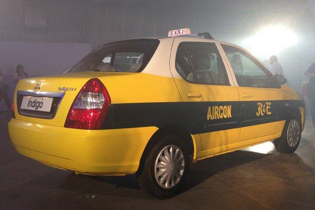 Tata Indigo taxicab Philippines rear three quarter