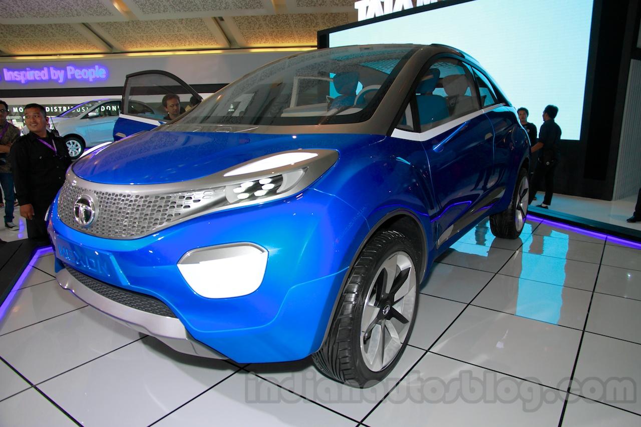 Tata Nexon at the 2014 Indonesia International Motor Show front quarters