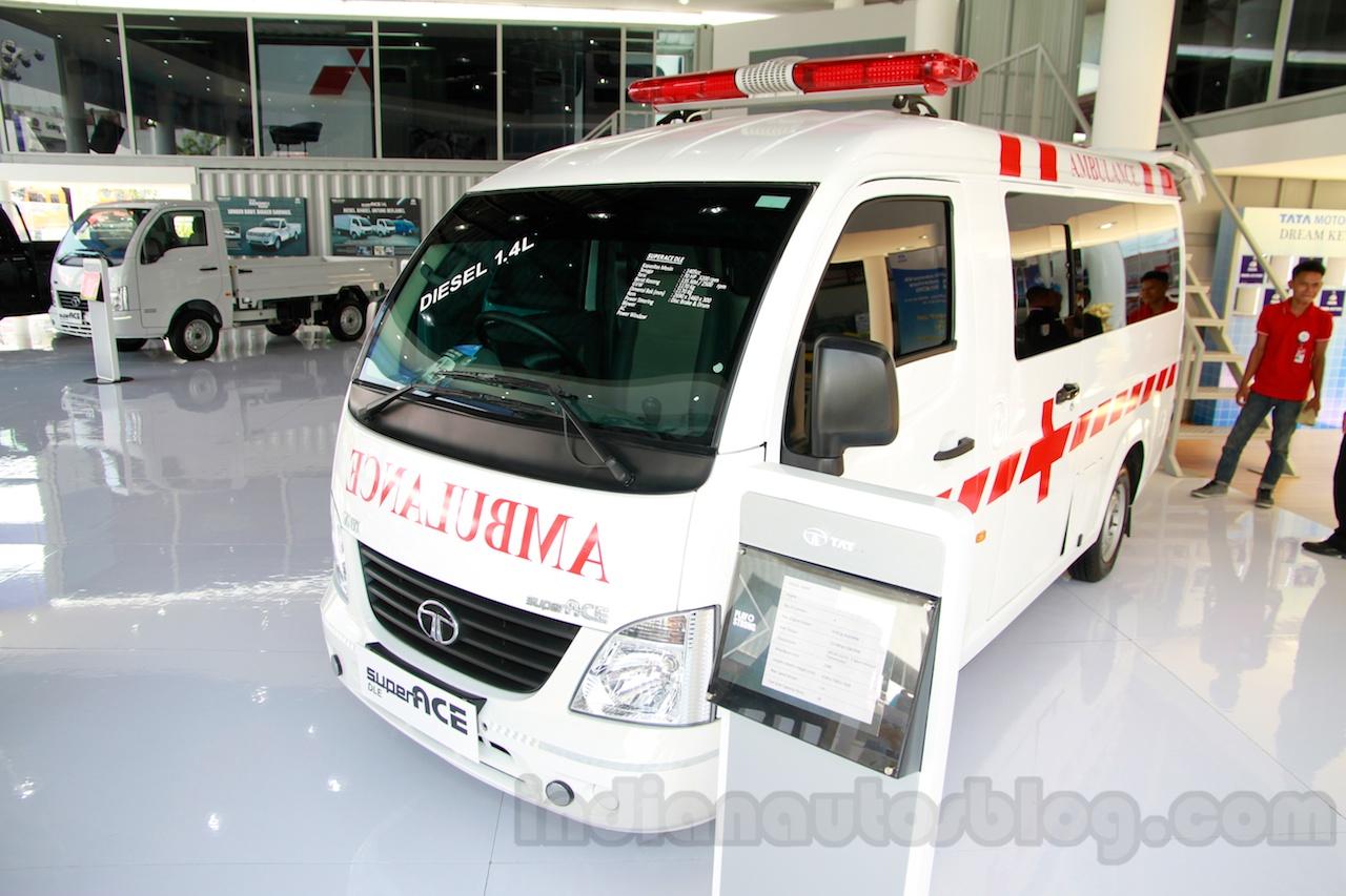 Tata Super Ace Ambulance at the 2014 Indonesia International Motor Show