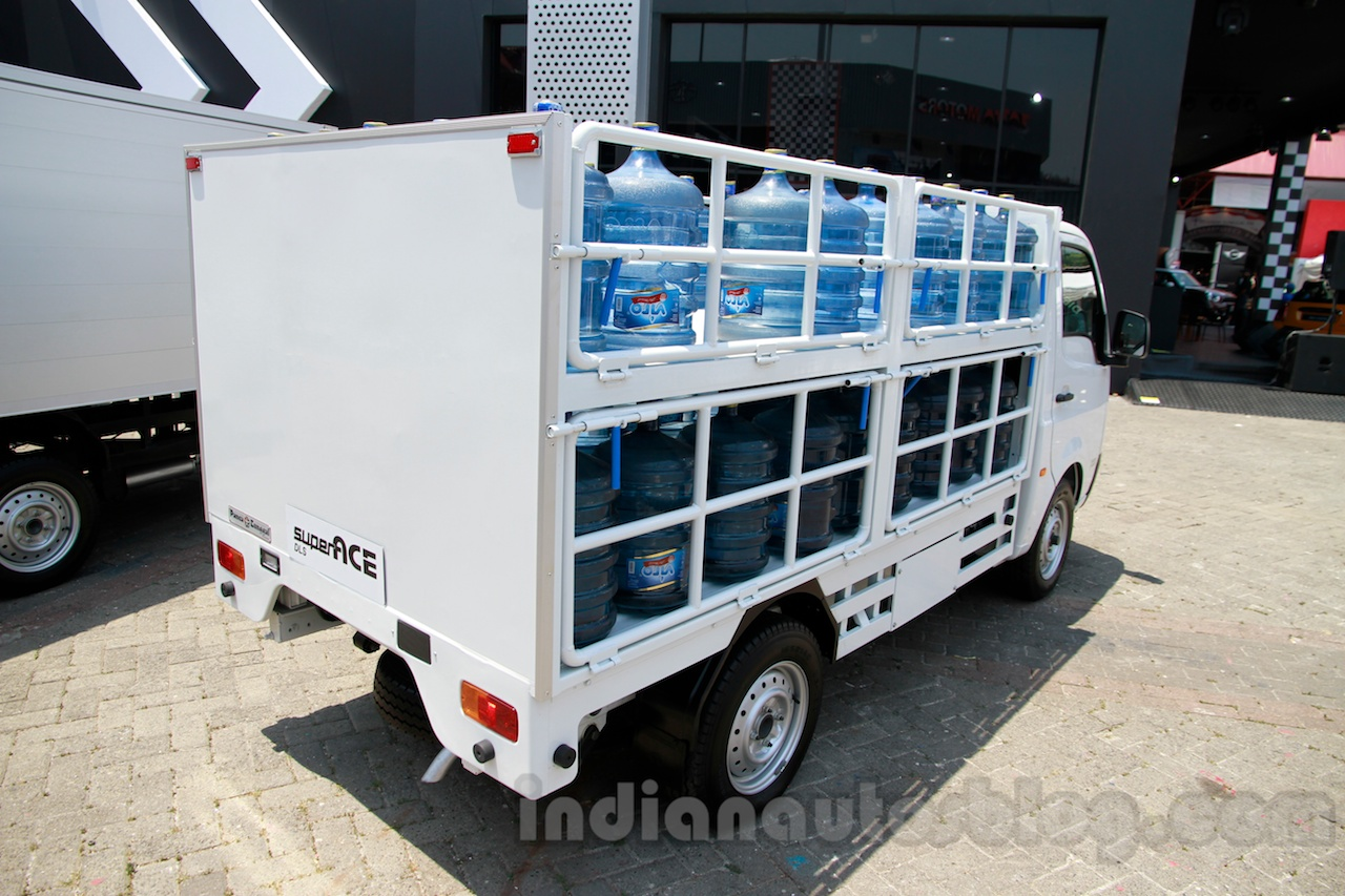 Tata Super Ace Water Can Carrier at the 2014 Indonesia International Motor Show rear quarter