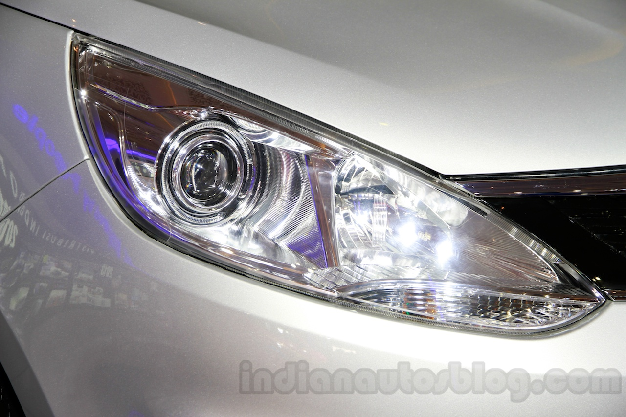 Tata Zest at the 2014 Indonesia International Motor Show headlight