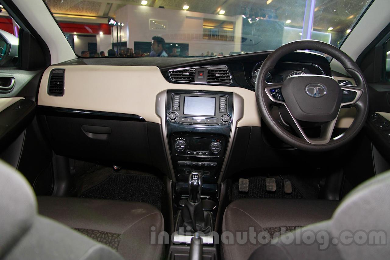 Tata Zest at the 2014 Indonesia International Motor Show interior