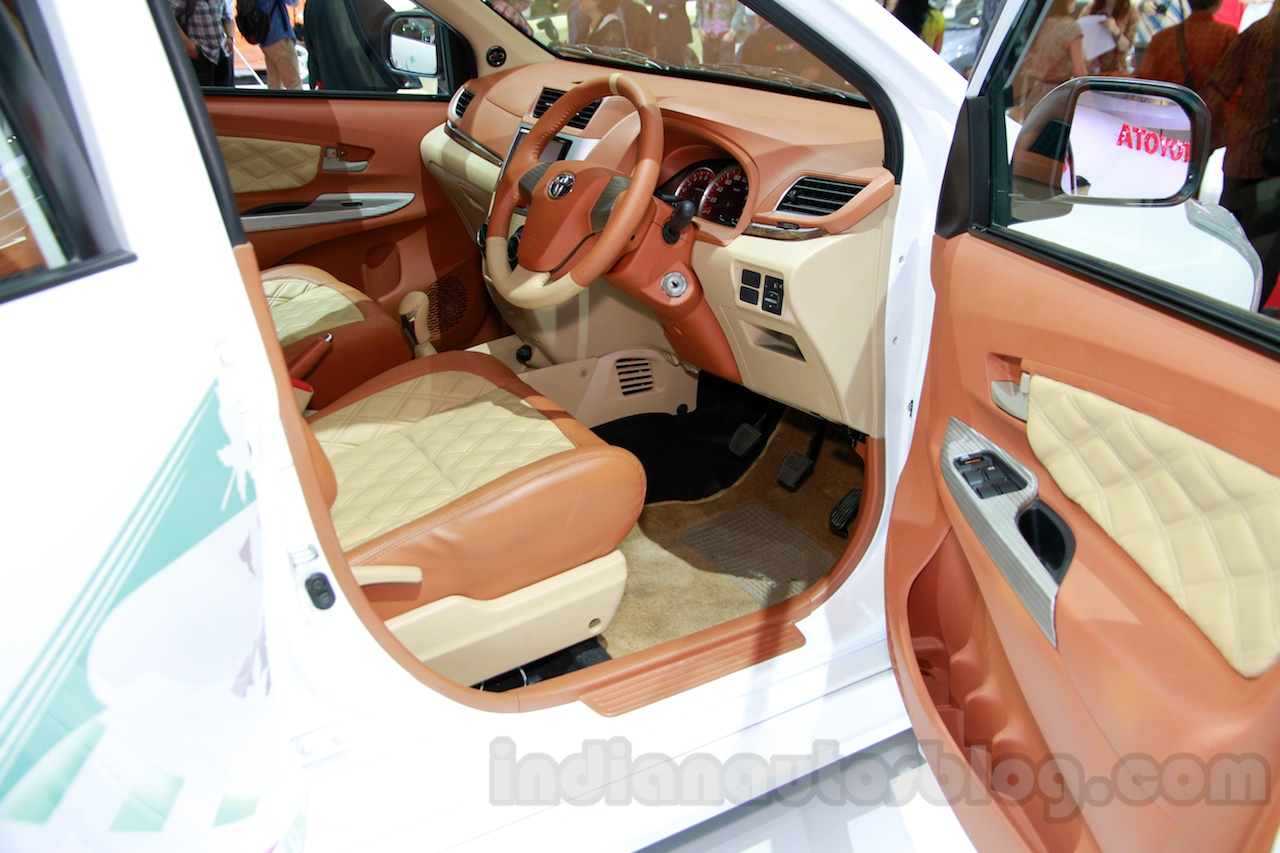 Toyota Avanza special edition dashboard at the 2014 Indonesian International Motor Show