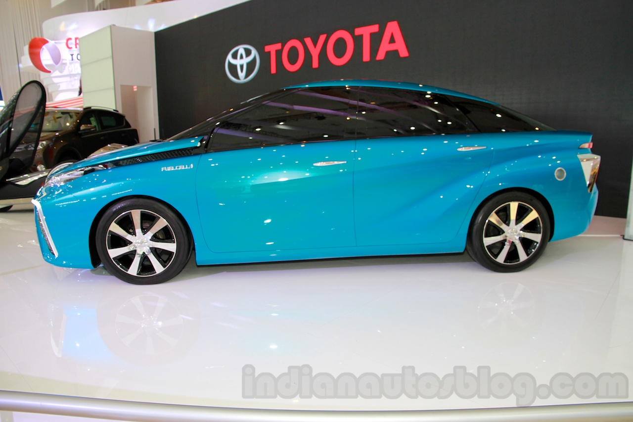 Toyota FCV Concept side at the 2014 Indonesia International Motor Show
