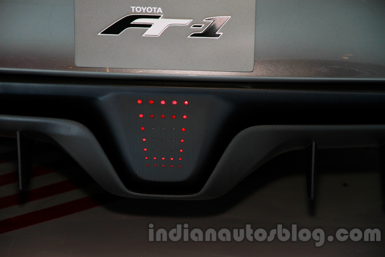 Toyota FT-1 concept diffuser at the 2014 Indonesia International Motor Show