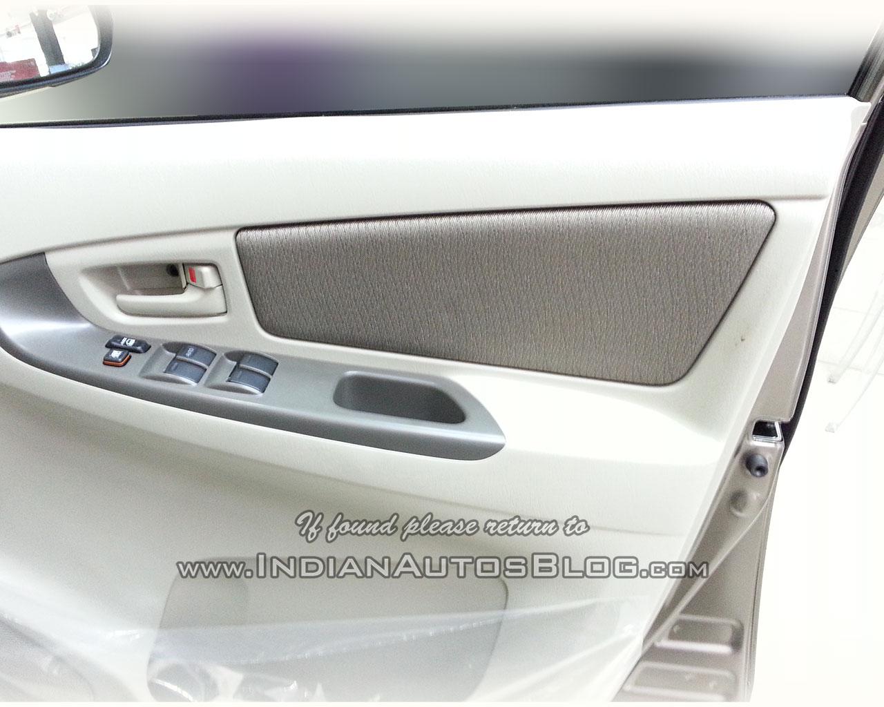 Toyota Innova Limited Edition door insert