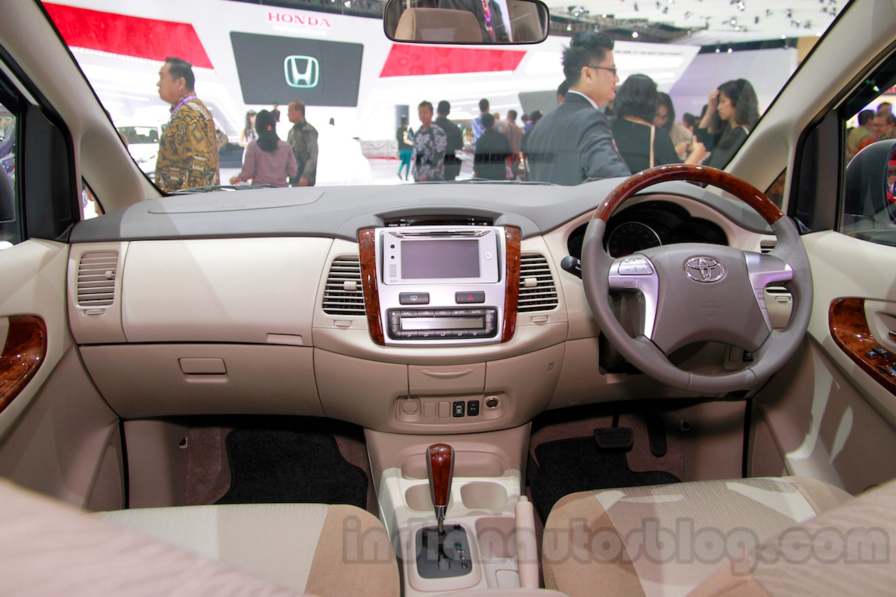 Toyota Innova special edition dashboard full view at the 2014 Indonesia International Motor Show