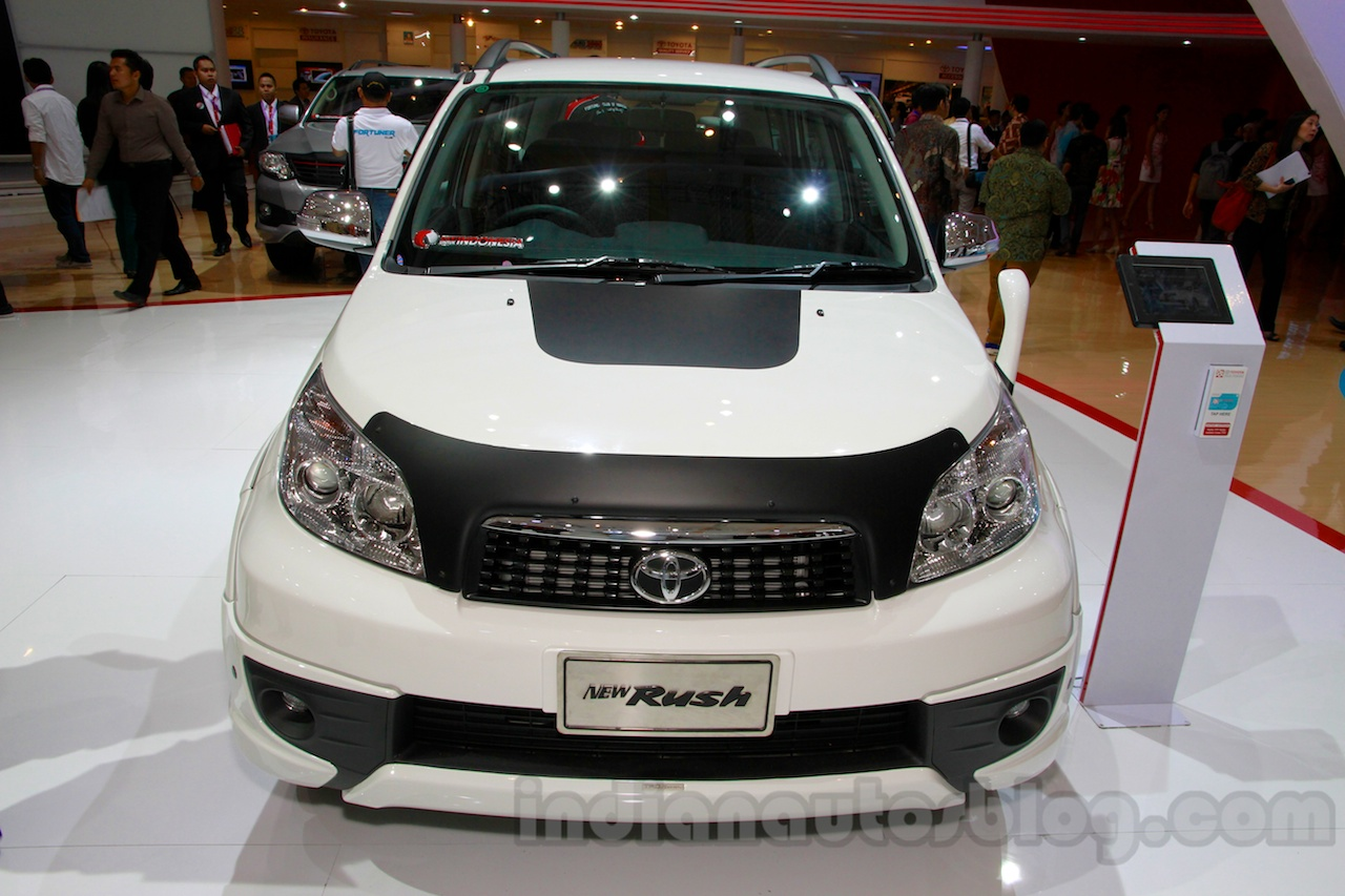 Toyota Rush TRD Sportivo at the 2014 Indonesia International Motor Show front