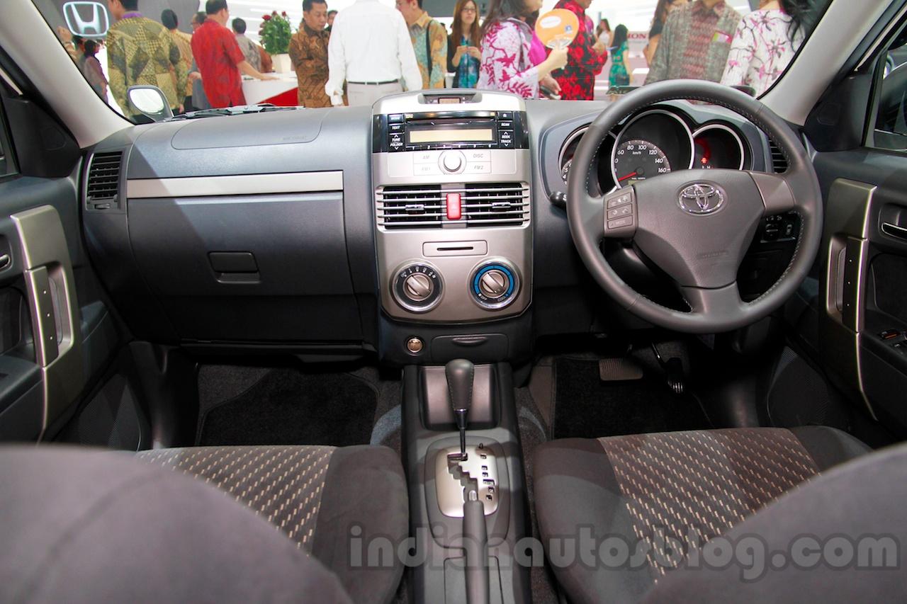 Toyota Rush TRD Sportivo at the 2014 Indonesia International Motor Show interior