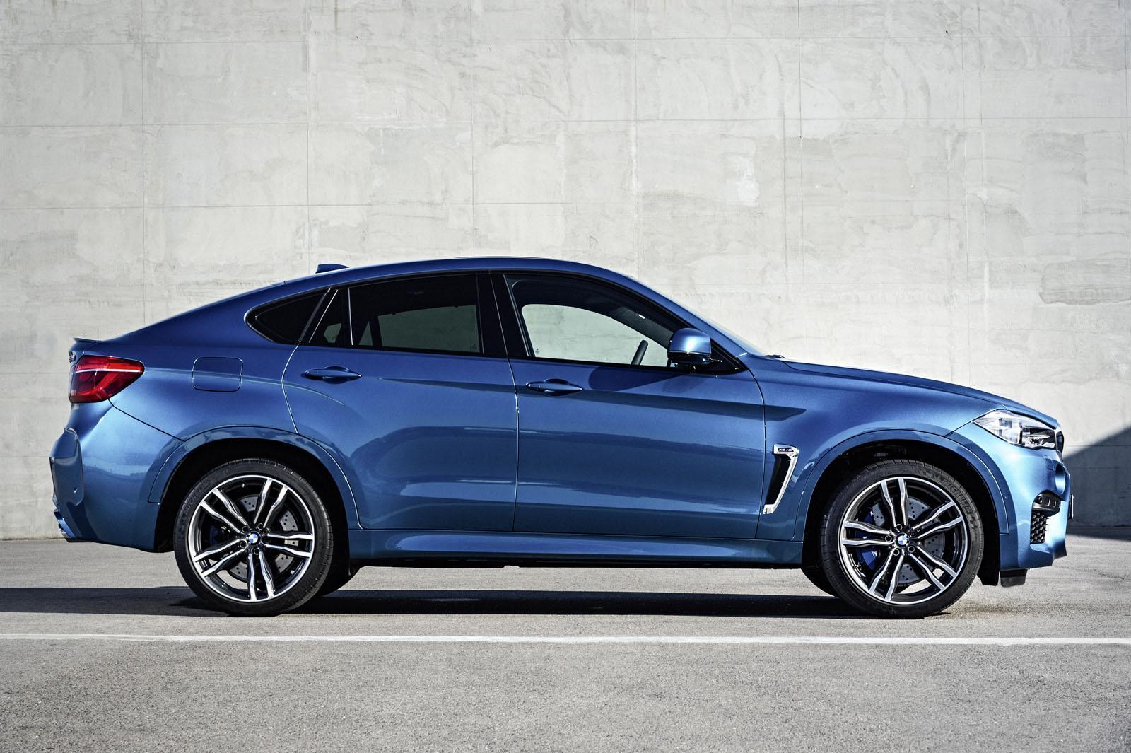 2015 BMW X6 M side