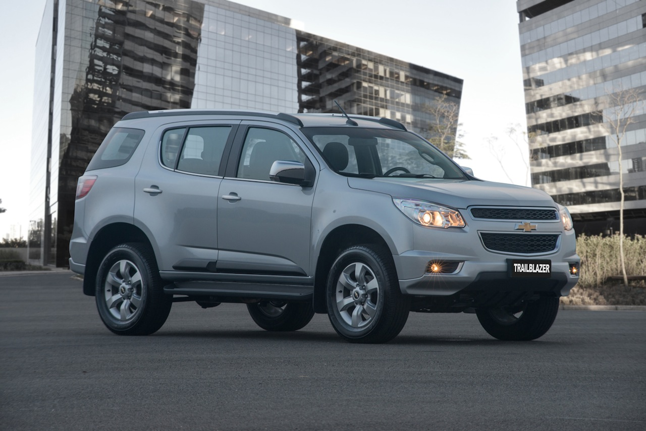 2015 Chevrolet Trailblazer Announced In Brazil