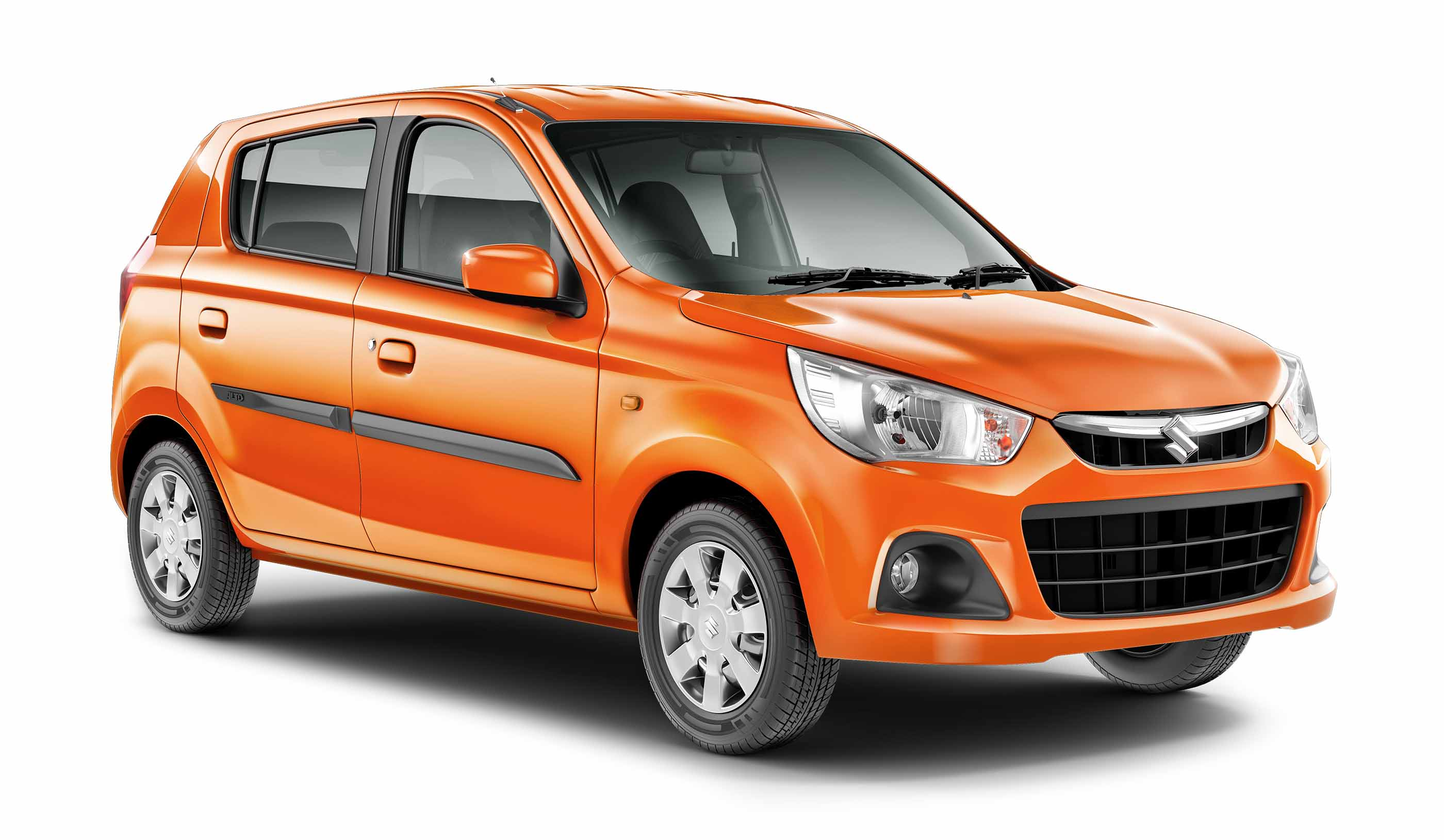 2015 Maruti Alto K10 front quarter press shot