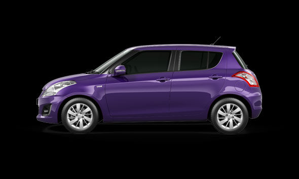 2015 Maruti Swift facelift mysterious violet