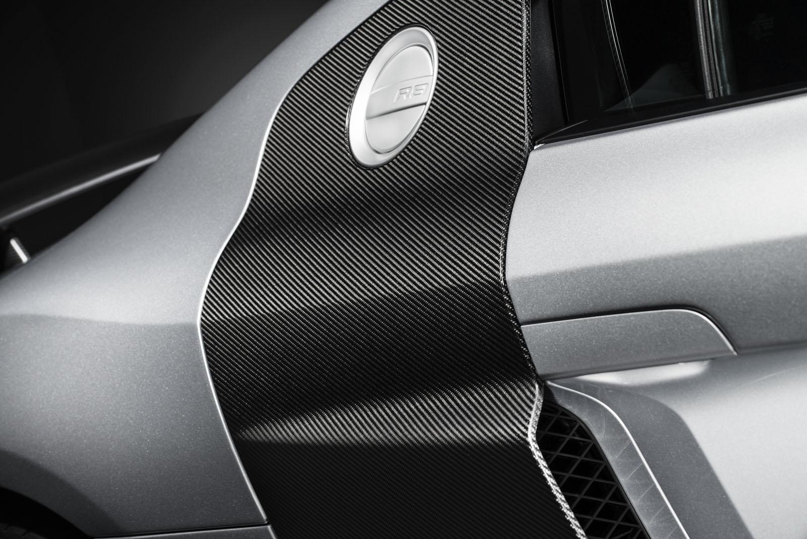 Audi R8 Competition fuel filler
